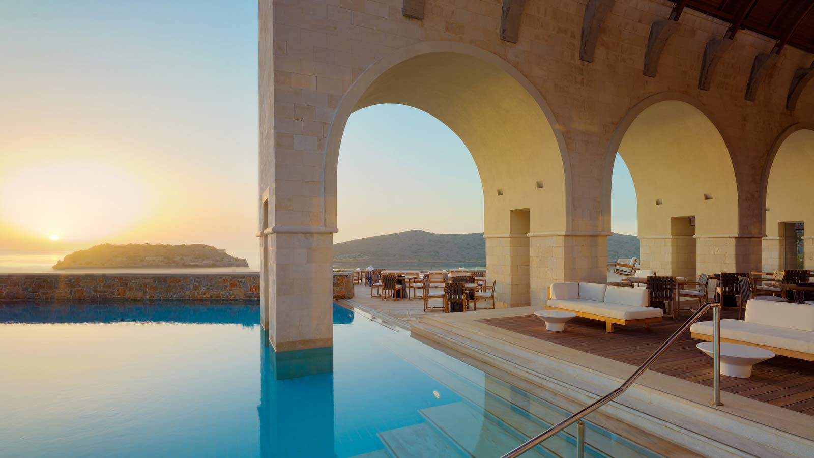 Arsenali Lounge - Blue palace resort and spa - Elounda, Crete, Grece