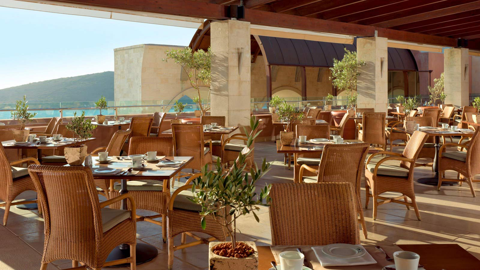 Olea Restaurant - Blue Palace resort and spa- Elounda, Crete, Greece
