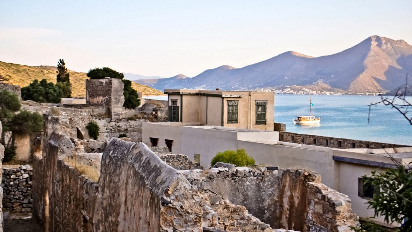 Spinalonga, an architectural wonder of Greece